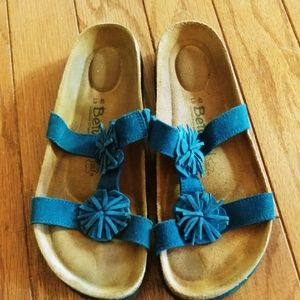 Blue Betula (Birkenstocks) sandals